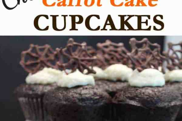 Chocolate Carrot Cake Cupcakes 670x447|2CookinMamas