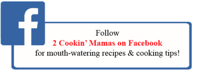 Follow 2CookinMamas on Facebook