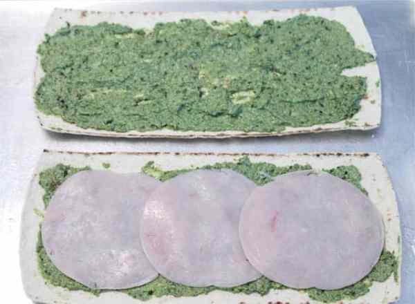 Turkey Apple Walnut Flatbread step 1