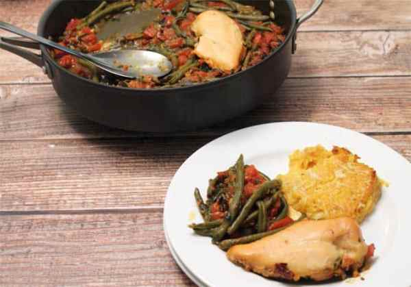 Chicken and Green Beans 670a|2CookinMamas