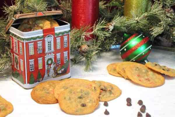Peppermint Chocolate Chip Cookies 640|2CookinMamas