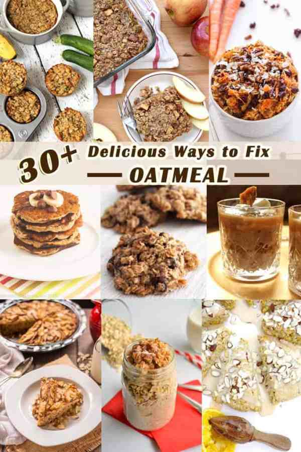 Top 30 Oatmeal Recipes|2CookinMamas Favorite food bloggers share their best oatmeal recipes from hot oatmeal to bars and smoothies to cookies.