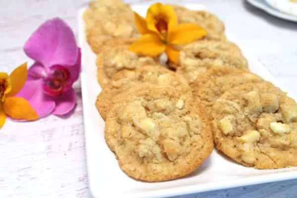 Key Lime White Chocolate Chunk Cookies 4|2CookinMamas