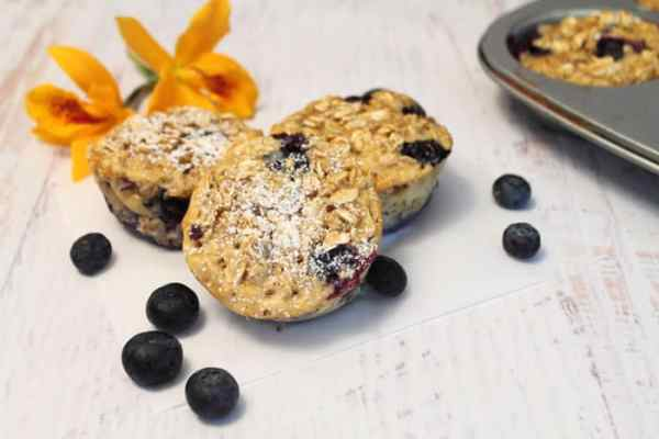 Blueberry Oatmeal Muffins 700|2CookinMamas