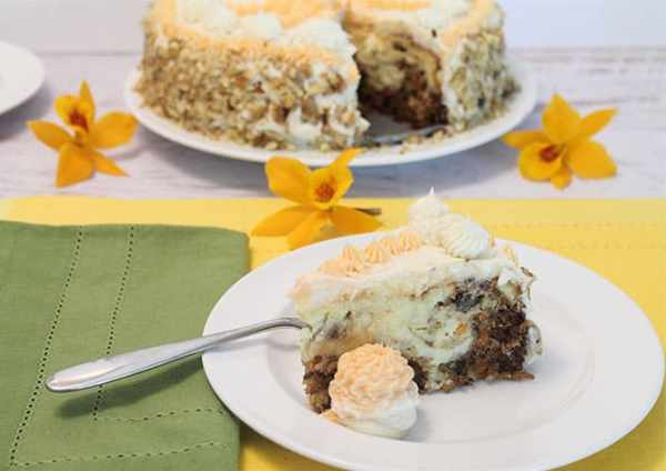 Carrot Cake Cheesecake 2|2CookinMamas