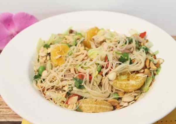 Mandarin Chicken Salad full | 2CookinMamas