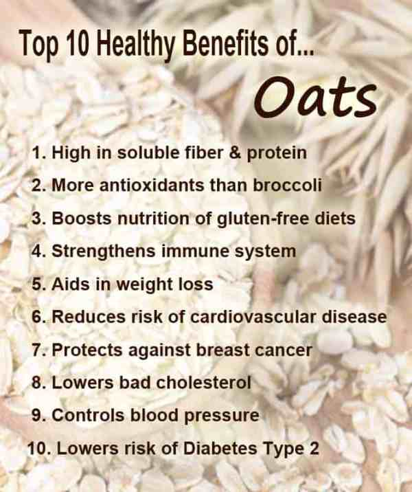 Top 10 Healthy Benefits of Oats | 2 Cookin' Mamas