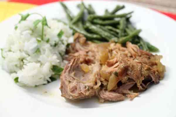 Crockpot Cuban Pork 2 | 2 Cookin Mamas