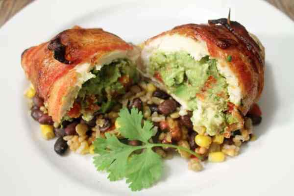 guacamole-stuffed-chicken-2 | 2 Cookin Mamas