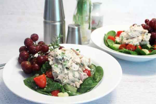 Rosemary Chicken Salad 1 | 2 Cookin Mamas