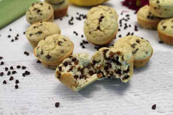 Banana Pancake Muffins bite | 2 Cookin Mamas