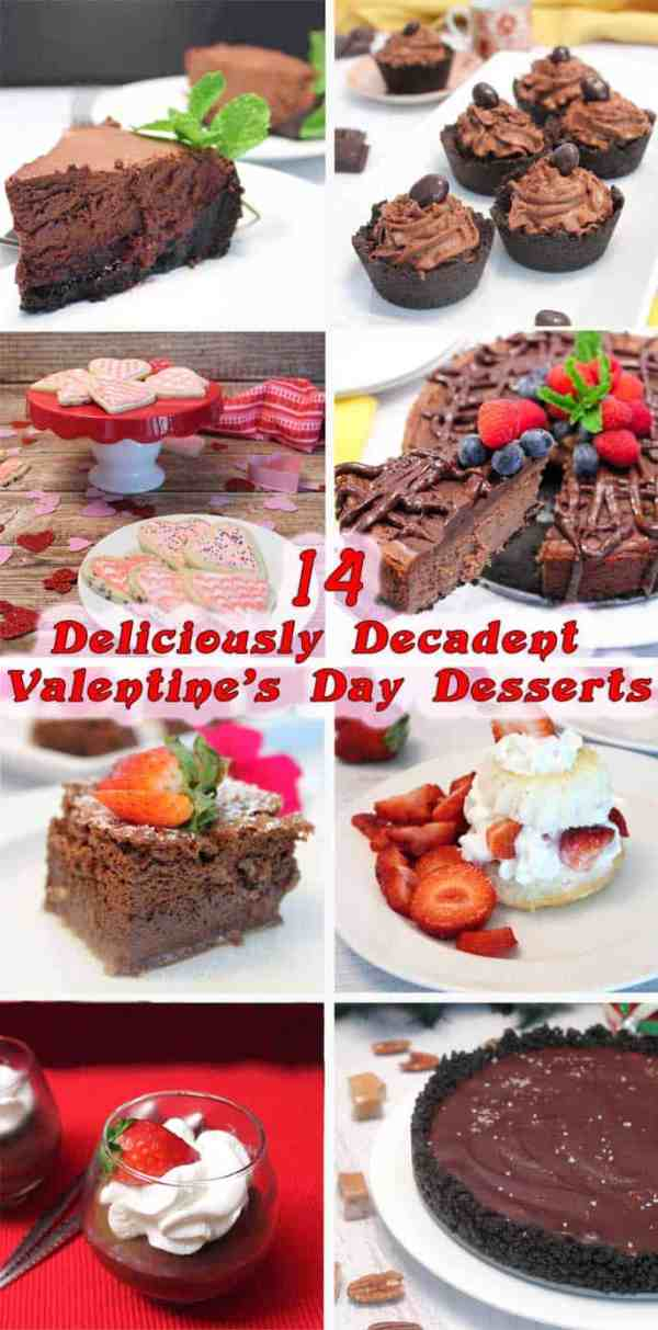 Valentines Day-Desserts | 2 Cookin Mamas