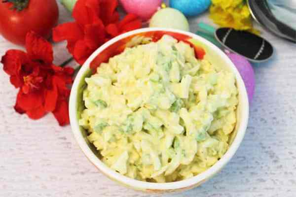 Easy Egg Salad 2 | 2 Cookin Mamas