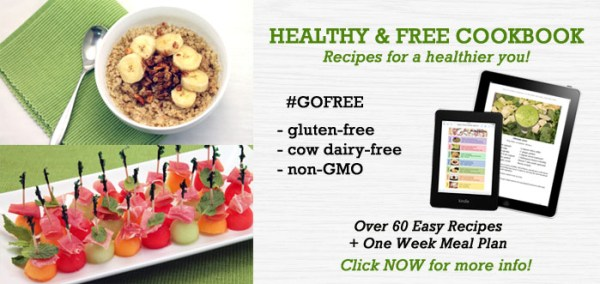 Healthy and Free book ad | 2 Cookin Mamas