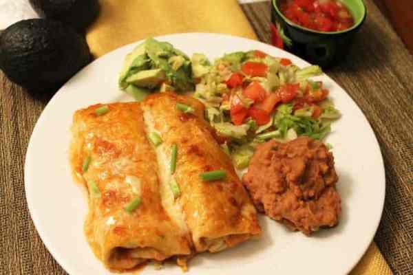 Chicken Enchiladas 1   2 Cookin Mamas