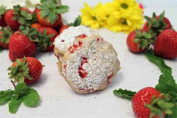 Strawberry Mint Cookies 4 | 2 Cookin Mamas