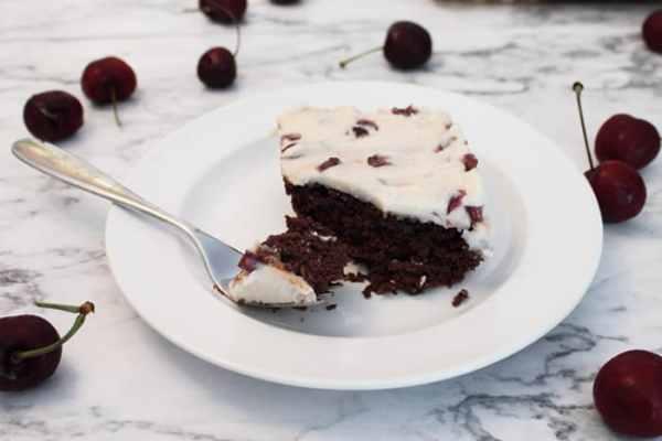 Black Cherry Brownies 3 | 2 Cookin Mamas