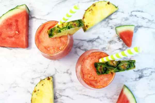 Watermelon Splash overhead | 2 Cookin Mamas