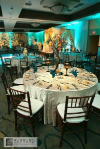 Hardik & Bansaris Natural Teal Wedding Reception ...