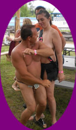 sluts, minnesota campground, clothing optional, gay, lesbian, two creeks campground