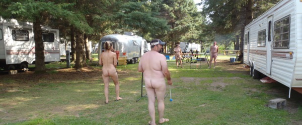Minnesota Clothing Optional Camping