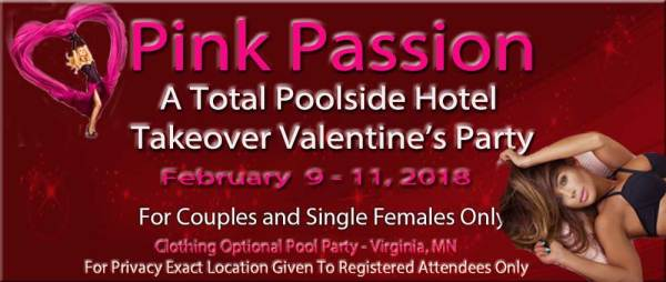 Minnesota Adults Only, Clothing Optional, Valentine's W