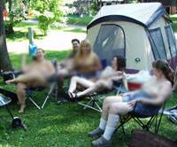 clothing optional campground, minnesota, wisconsin