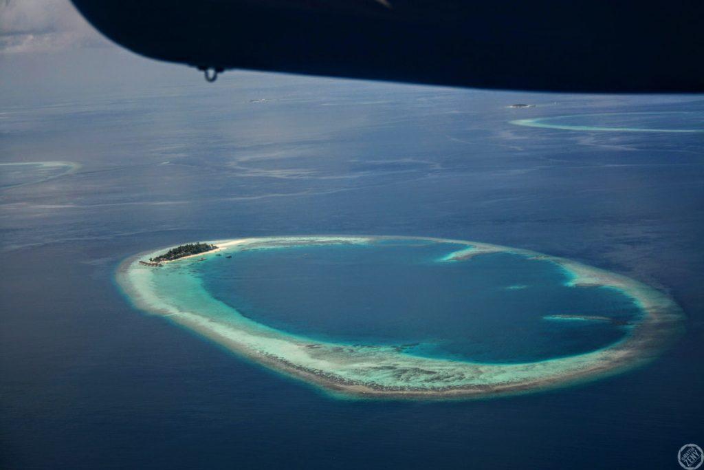 Maldive Maayafushi Idrovolante