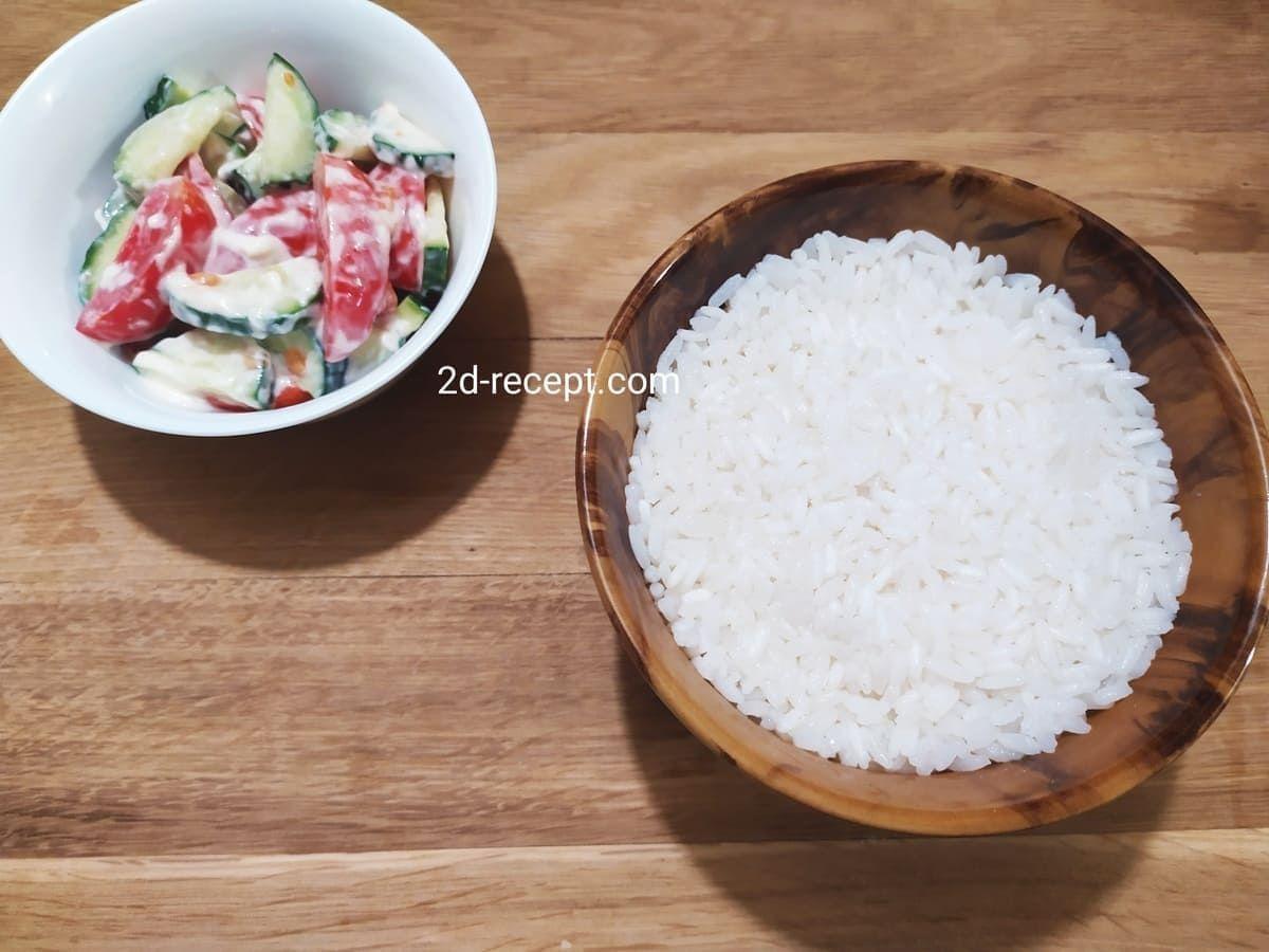 Hogyan kell főzni ellopott rizs crumbly
