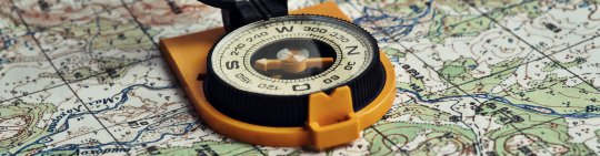 Navigation With A Compass