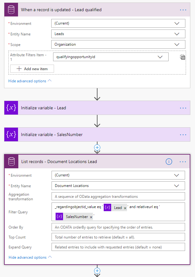 Automate SharePoint Document Locations creation in Dynamics