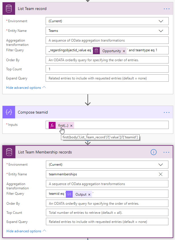 Grant access to folder in SharePoint for Access Team members