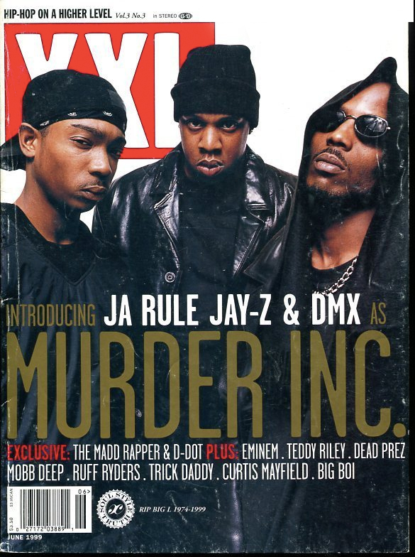 murder inc xxl cover1 JAY Z, DMX & Ja Rule's Short Lived Murder Inc. Group Have Songs We've Yet to Hear