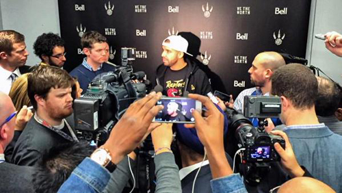 drake raptors Drake Introduces The Toronto Raptors