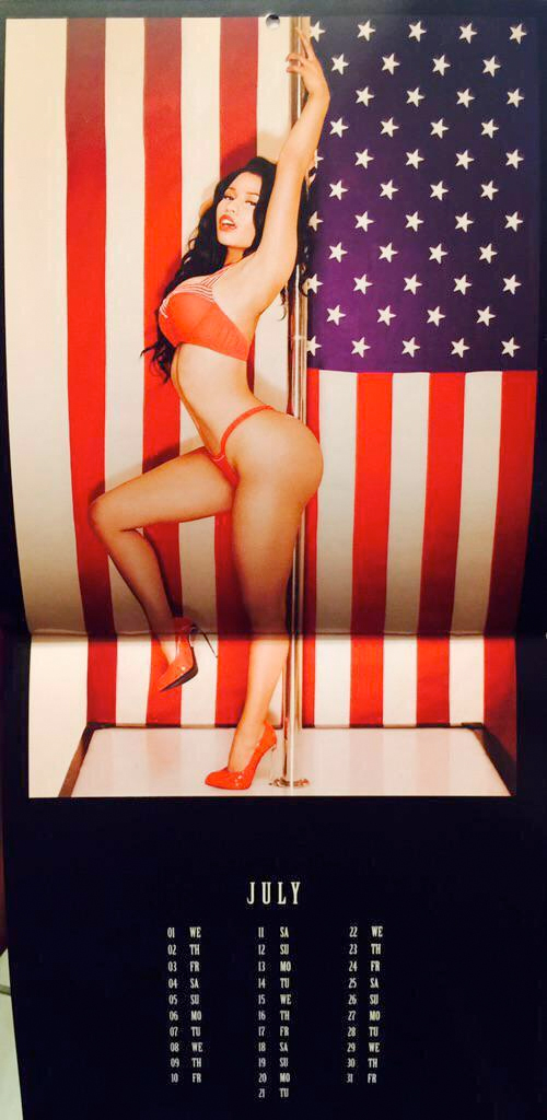 nicki calender 07 Thirst Trap: Nicki Minaj's 2015 Calendar