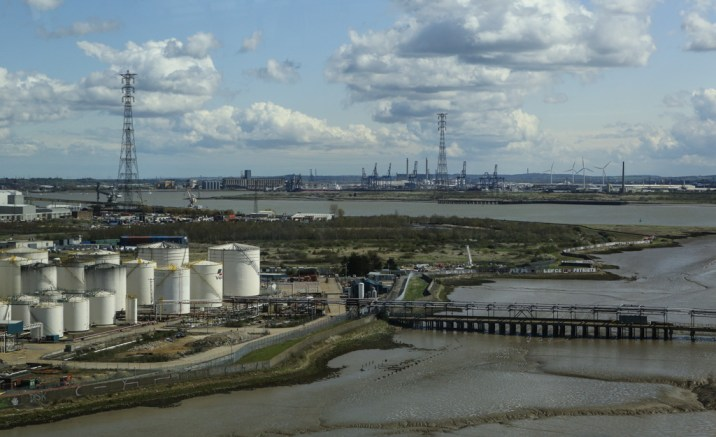 The Thames - Looking towards Tilbury