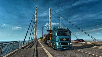 Crossing into Sweden