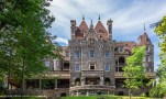 Boldt Castle's South facade. Quite impressive!