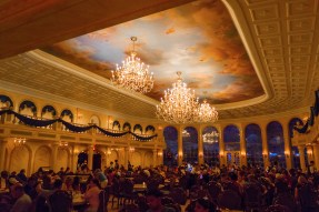 The ballroom at Be Our Guest.