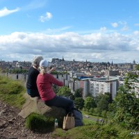 Salisbury Crags Walk, Edinburgh