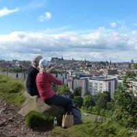 Salisbury Crags Walk, Edinburgh