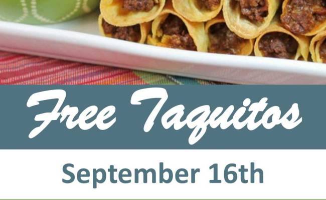 Celebrate Mexican Independence Day With Free Taquitos At