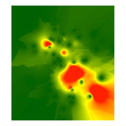 Resultados obtidos a partir dos dados usados.