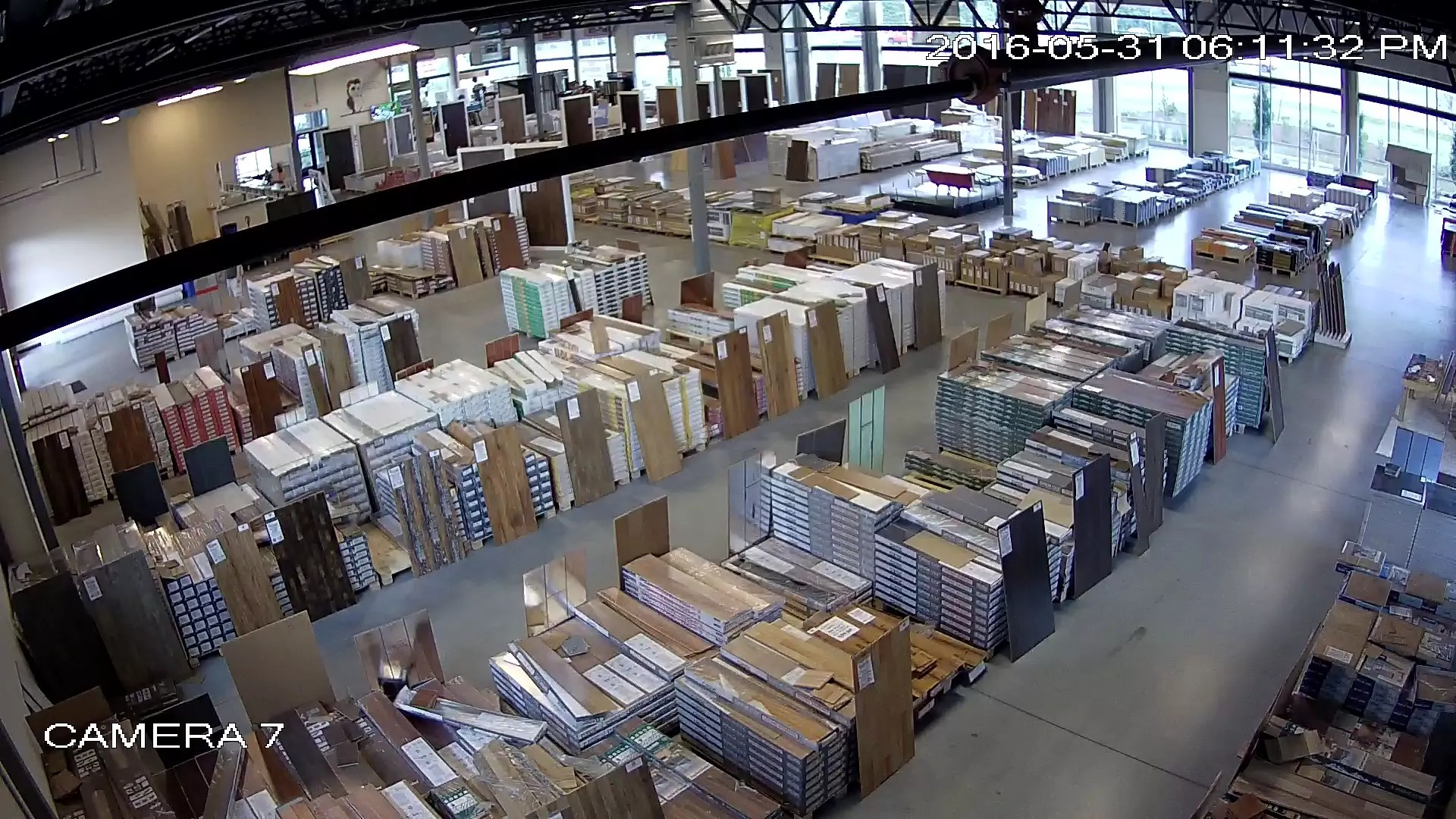 Warehouse Surveillance  Indoor  Hoosier Security