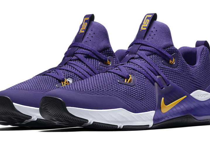 Nike Releases LSU Edition Zoom Train Command Shoe Here