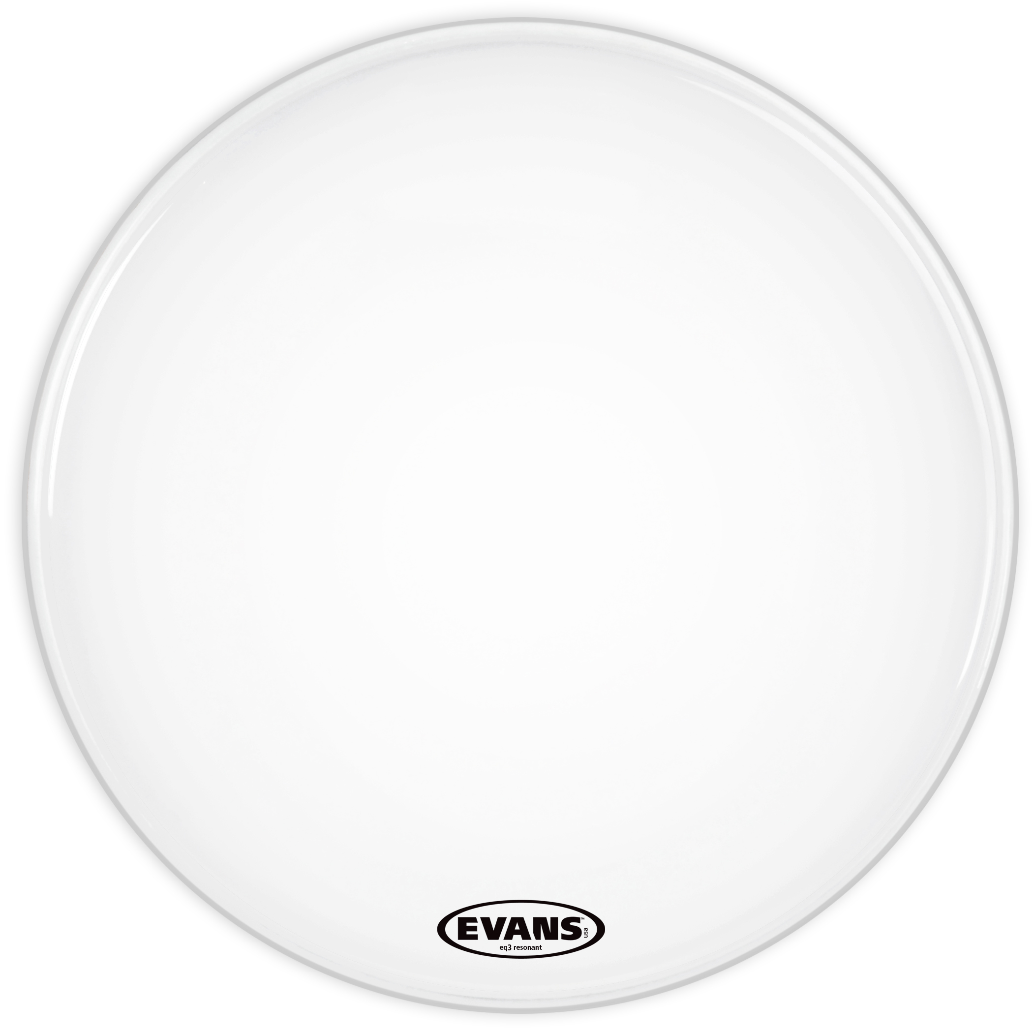 Evans Eq3 Reso Smooth White Bass Head 22 Inch