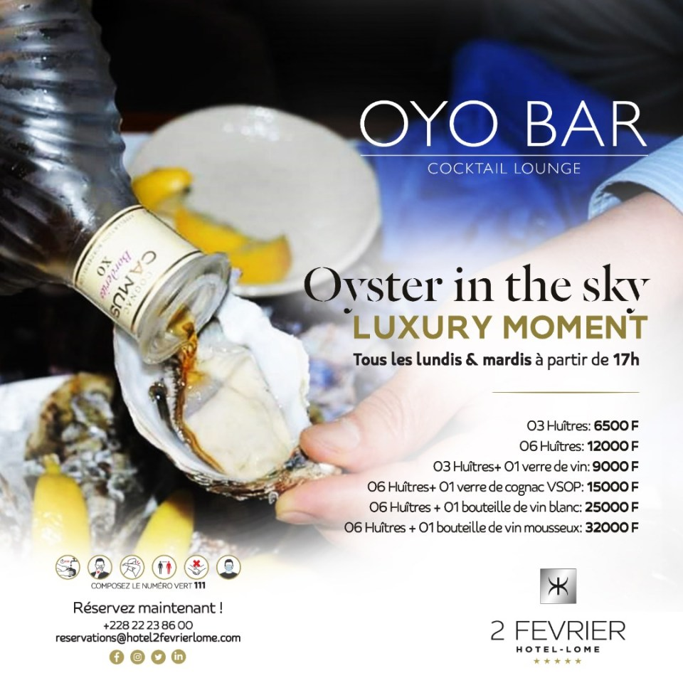 Oyster in the Sky