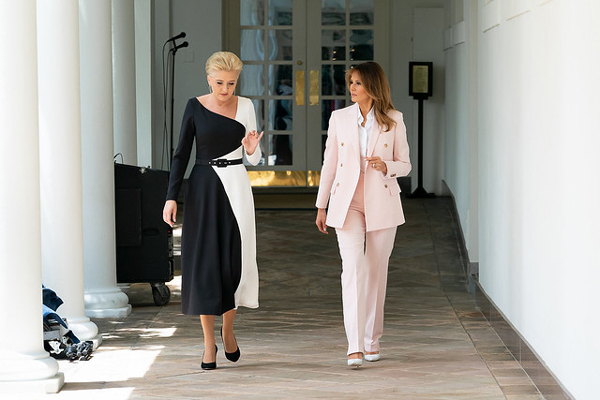 Agata Kornhauser-Duda, Poland, Melania Trump, Fashion