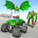 Monster Truck Robot Wars New Dragon Robot Game 1.0.5 APK MODs Unlimited Money Hack Download for android
