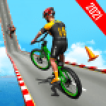BMX Bicycle Racing Stunts 3D Mega Ramp Cycle Games 2.7 APK MODs Unlimited Money Hack Download for android
